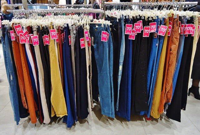 Distintos pantalones